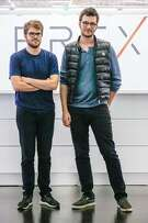 (L to R) Founders of Brex Pedro Franceschi, CTO, and Henrique Dubugras, CEO, at Brex headquarters on Wednesday, October 10, 2018 in San Francisco, Calif.