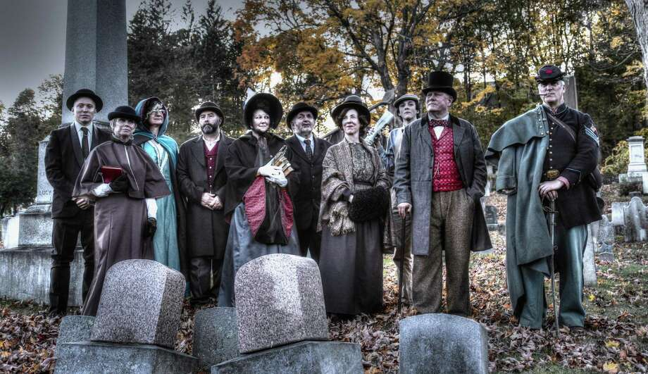 Washington and Winchester are holding cemetery tours this month. The Winsted Civil War Soldiers' Monument 6th Annual Historic Cemetery Walk will be held Saturday, Oct. 20 at South Cemetery in Winchester Center. Photo: Contributed Photos / / ©2014 VanAmburg Design, LLC