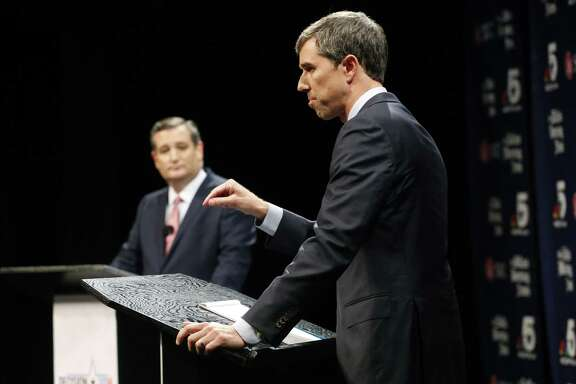 Republican U.S. Sen. Ted Cruz, left, and Democratic U.S. Rep.  Beto O'Rourke debate in Dallas. Readers discuss a recent O'Rourke-Brett Kavanaugh comparison.