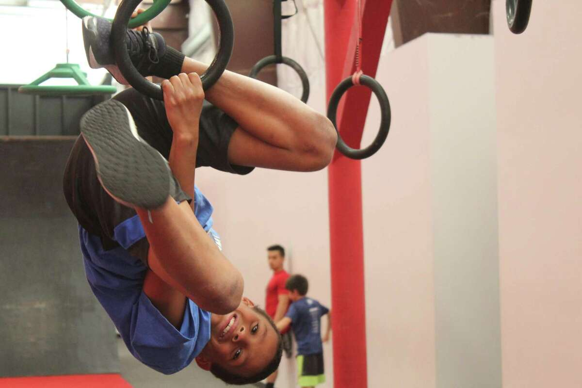 Ten-year-old Anthony Austin is competing on the first-ever season of American Ninja Warrior, which airs Oct. 13 at 6 p.m. on Universal Kids.