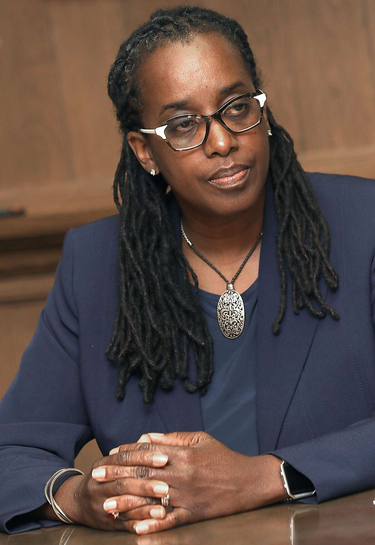 Jovanka Beckles, 55, is a youth mental health counselor and Richmond City Council member.