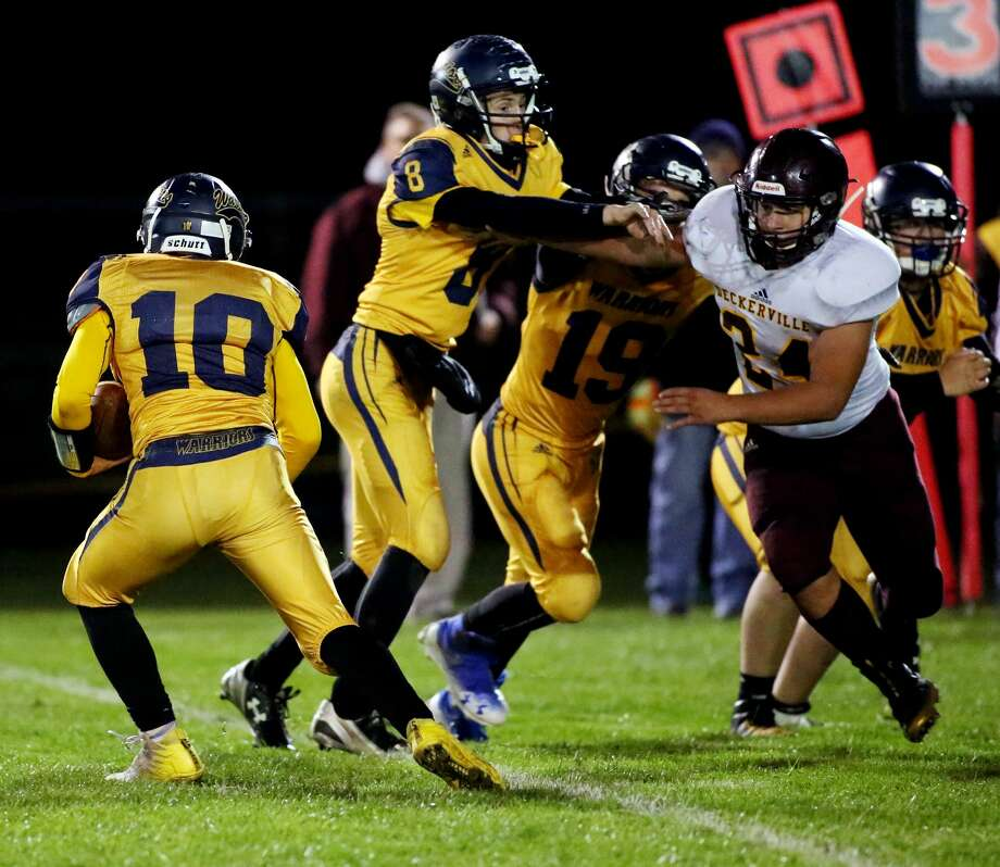 Deckerville 50, North Huron 0 Photo: Paul P. Adams/Huron Daily Tribune