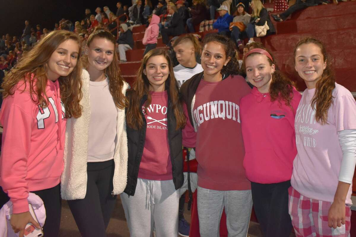 Masuk and Shelton High Schools faced off on the football field on October 12, 2018. Were you SEEN in the stands?