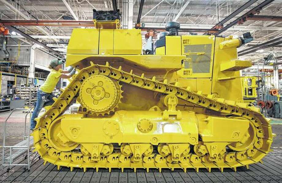 East Peoria's Building SS is the manufacturing home of Caterpillar Inc.'s D10, a trendsetting track-type dozer that is one of Caterpillar's largest dozers in the company lineup. The company celebrated the 40th anniversary of the D10 in 2017. Photo: Fred Zwicky | Journal Star