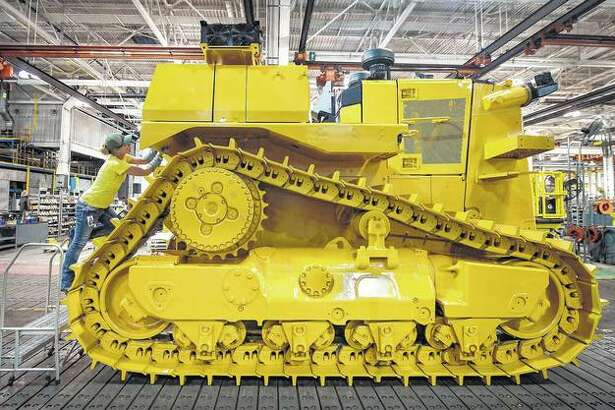 East Peoria's Building SS is the manufacturing home of Caterpillar Inc.'s D10, a trendsetting track-type dozer that is one of Caterpillar's largest dozers in the company lineup. The company celebrated the 40th anniversary of the D10 in 2017.