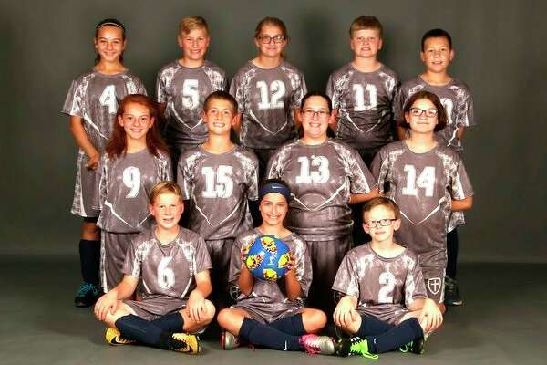 Picture are (front row from left): Channing Kuhl, Chloe Smith and Dalton Anderson; (Middle row): Gabriella Reinbold, Seth Gremel, JoAn Welch and Hanna Welch; (Back row): Alberta Reinbold, Taylor Alderson, Kayla Eremia, Parker Ritchey and Peter Boyer. (Submitted Photo)