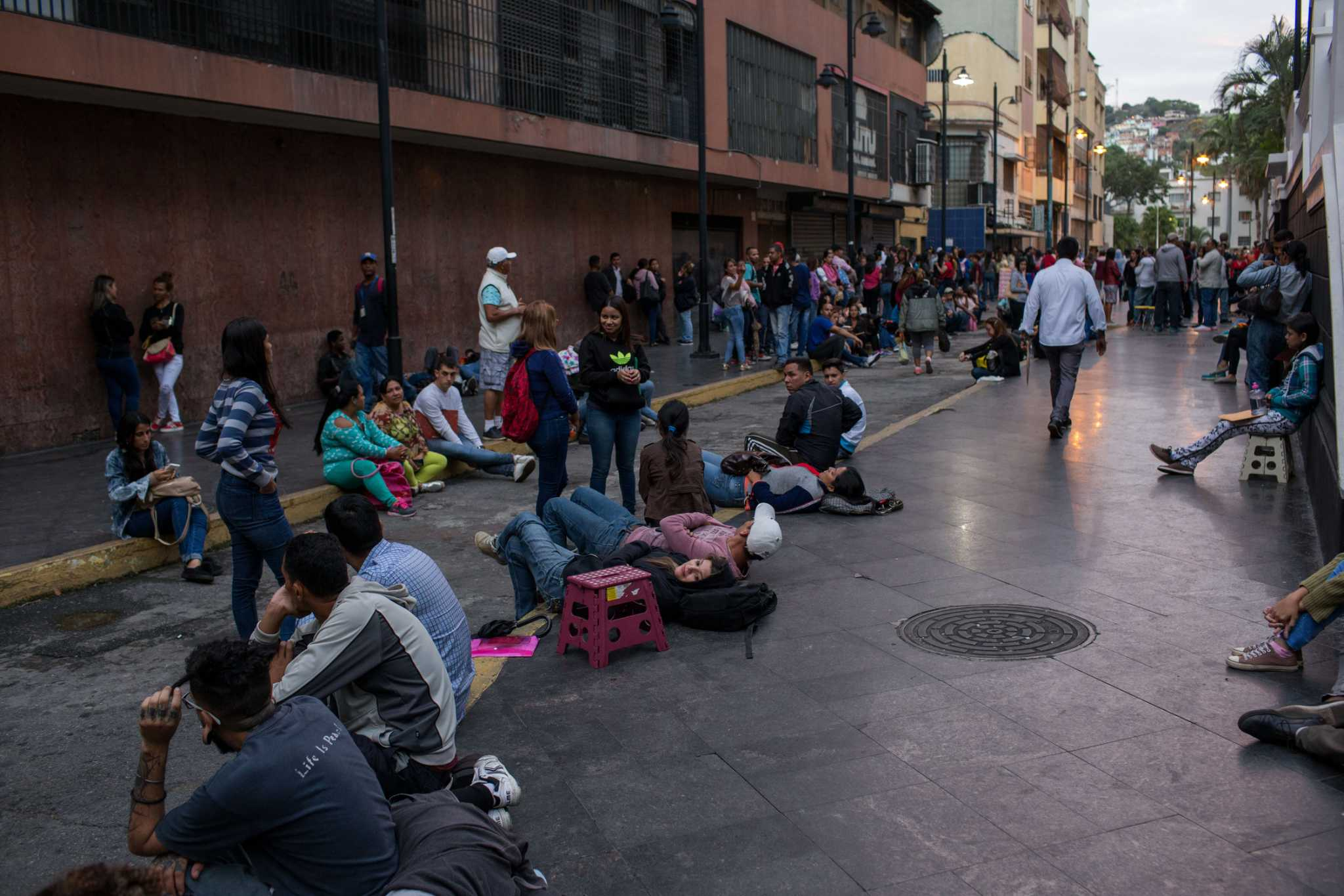 A humanitarian crisis in Venezuela? Nothing to see here, government says.