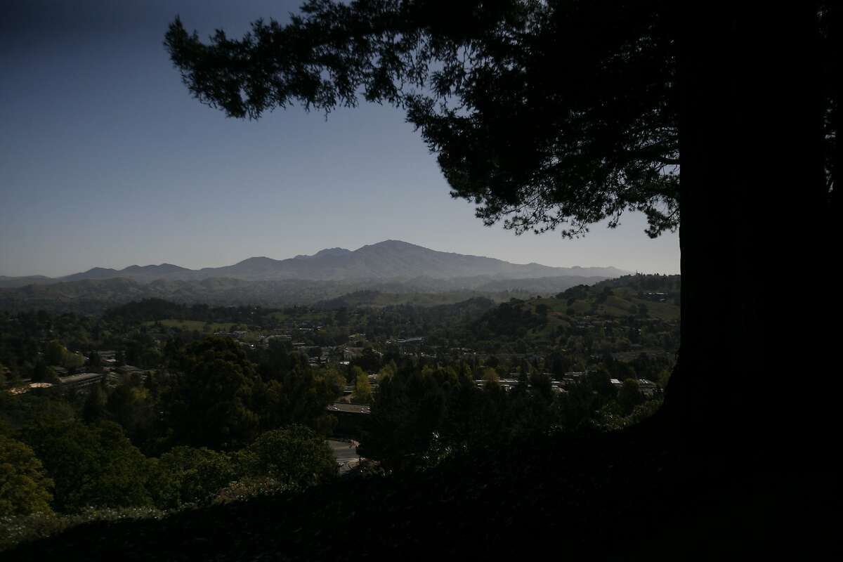 The area around Mt. Diablo is under a red flag fire warning this weekend amid dry conditions and gusty winds.