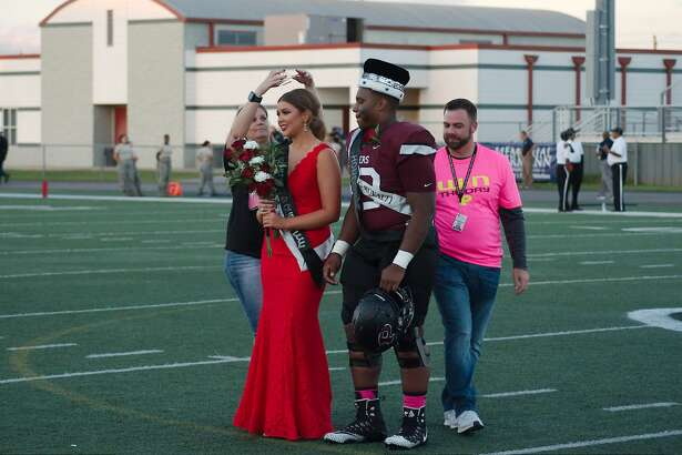 Pearland High School homecoming football game against Elsik at Pearland High School.