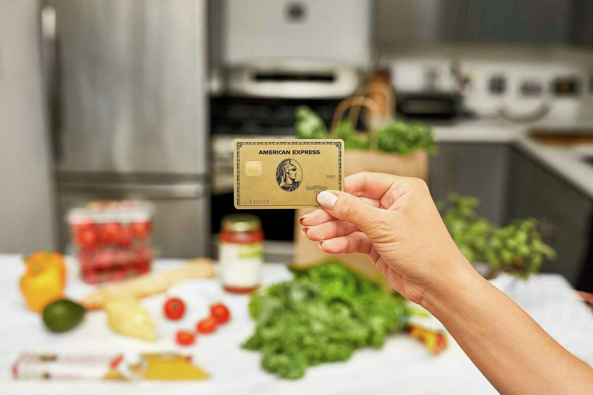 This undated product image provided by American Express shows the new Gold Card, which is getting a major upgrade this fall. It?'s the latest move by American Express to keep and grow its card member base in the face of increased competition. But also refreshes a product that industry experts have said was too expensive for the perks it previously was offering. (Bill Davila/Courtesy of American Express via AP)