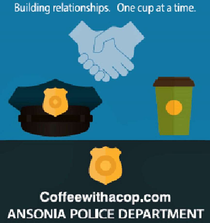 Ansonia, Conn., police will host Coffee with a Cop on Monday, Oct. 14, 2018. Photo: Contributed Photo / Ansonia Police Department / Contributed Photo / Connecticut Post Contributed