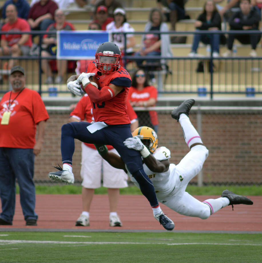 Josh Gontarek, now with Shippensburg, won CAA Offensive Rookie of the Year at UAlbany in 2014. (Bill Smith/Shippensburg University) Photo: Bill Smith/Shippensburg University /