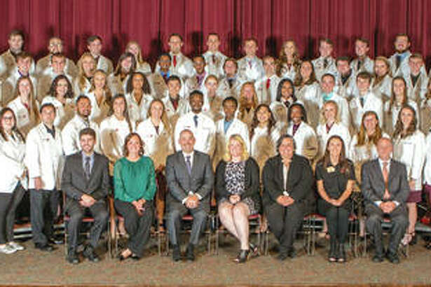SIUE School of Pharmacy White Coat Ceremony at the Morris University Center on the campus of Southern Illinois University Edwardsville on Friday, October 5, 2018.