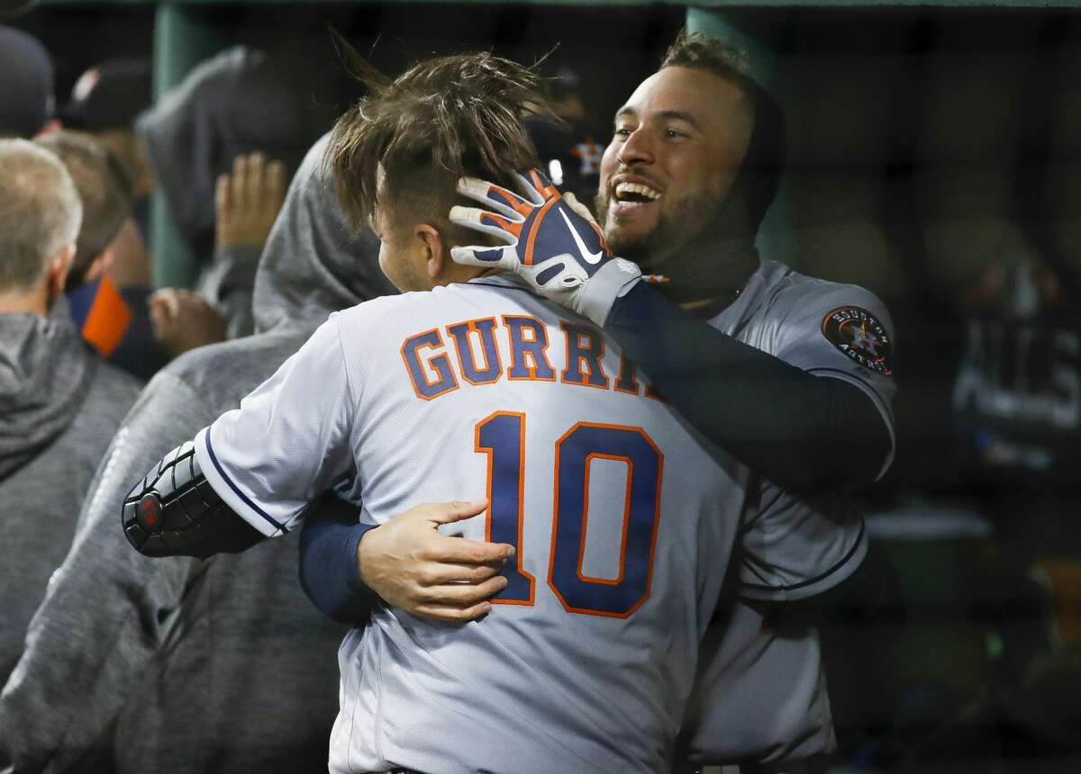 George Springer and Yuli Gurriel are among the Astros' veterans who can become free agents after the 2020 season.