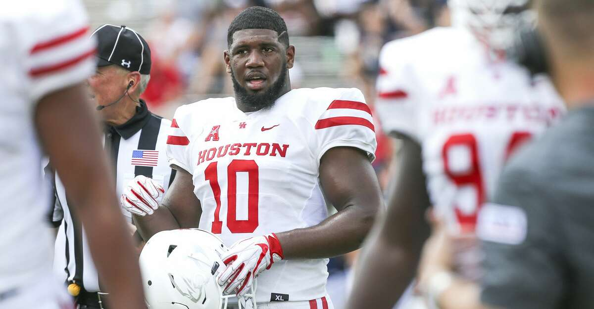 Houston defensive tackle Ed Oliver is listed as questionable for Saturday's game against South Florida because of a bruised knee.