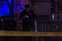 A man was shot in the head outside his home early Sunday, Oct. 14 in the 3000 block of West Salinas Street.