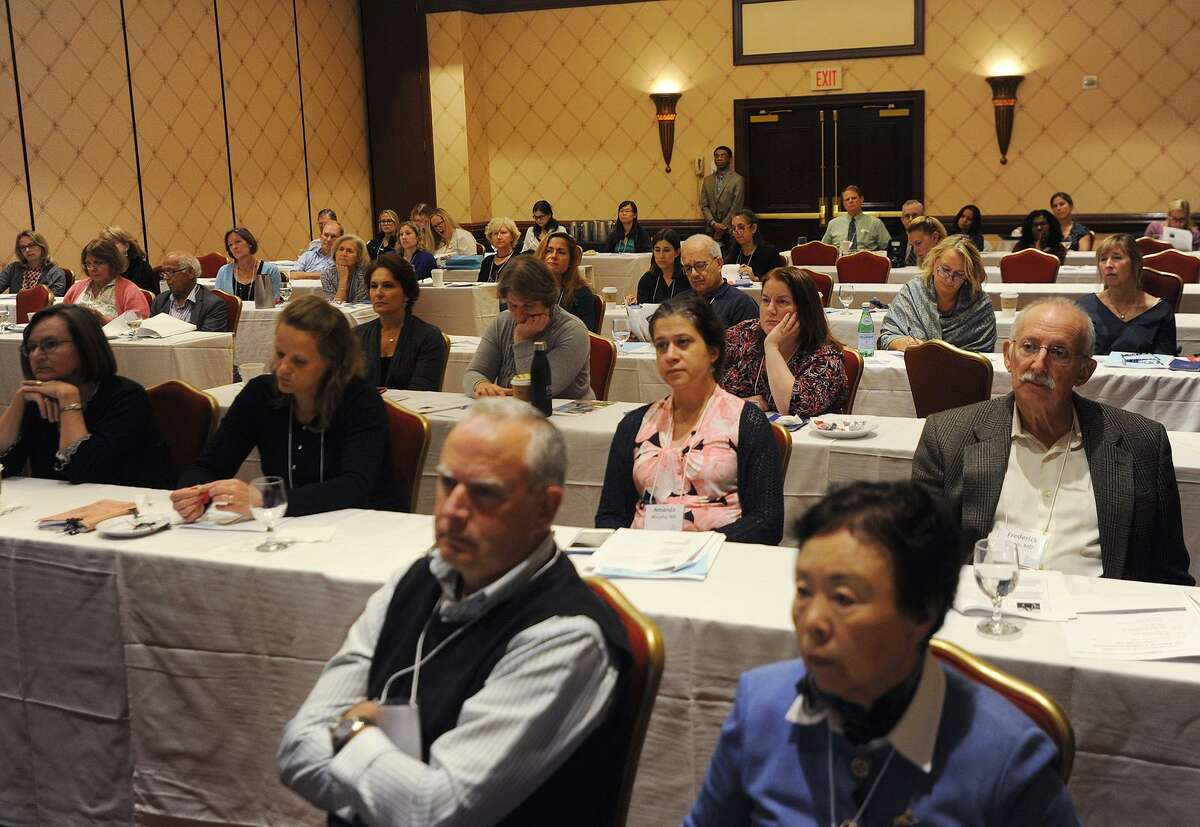 Bridgeport Hospital's 41st annual Maxwell Bogin, MD, Lectures in Pediatrics at the Trumbull Marriott in Trumbull, Conn. on Wednesday, October 10, 2018.