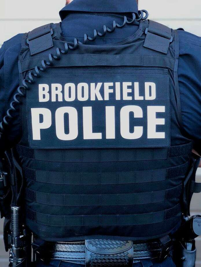 Brookfield police's new uniform is meant to limit the strain on officers' backs and make it easier for them to access their equipment. Photo: / Brookfield Police Department Facebook Page