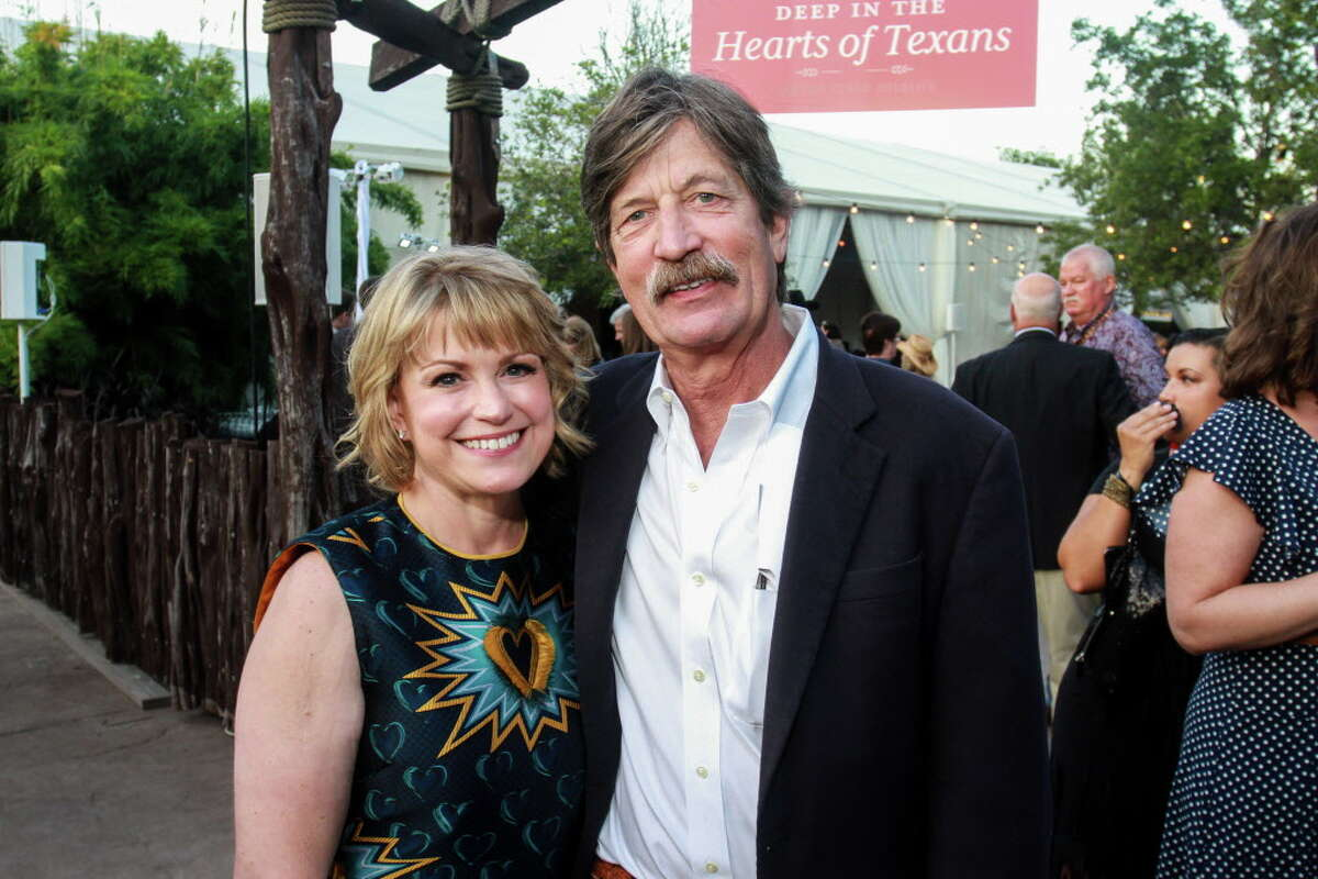 Chairs Kelley and Steve Lubanko at the Houston Zoo Conservation Gala.