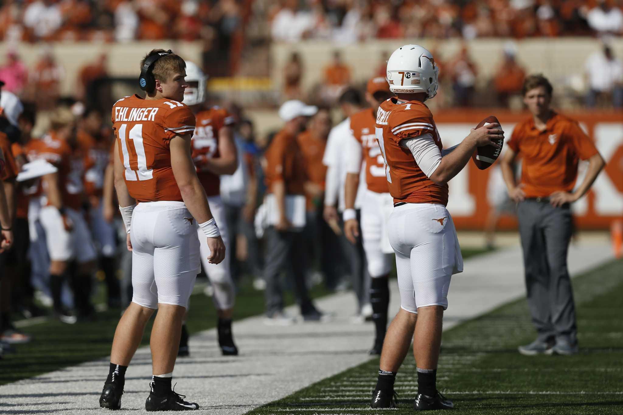 Mri Reveals Shoulder Sprain For Texas Qb Sam Ehlinger