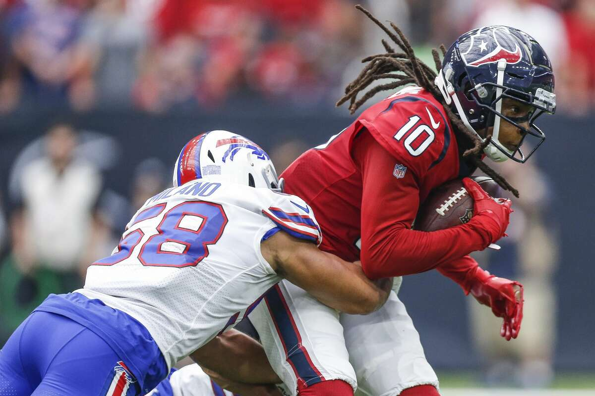 Getting the ball to DeAndre Hopkins against a tough Buffalo defense will be paramount for the Texans on Saturday.