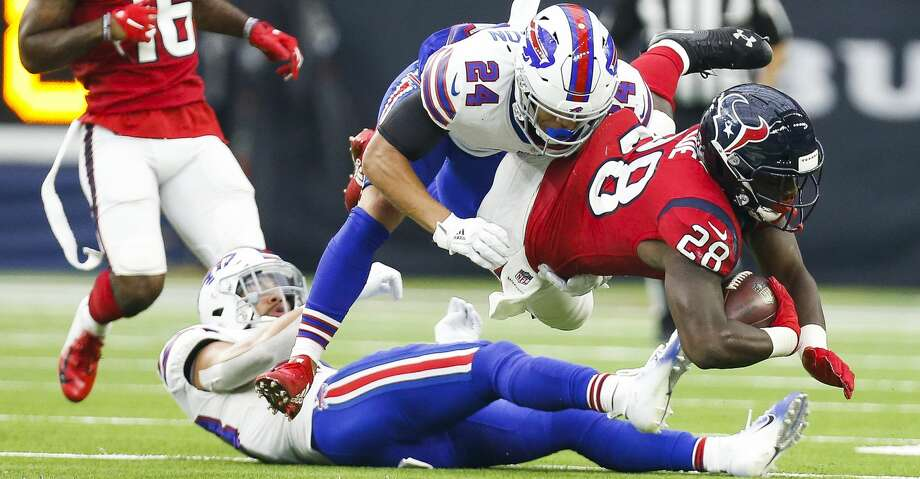 eb28f8d1 Texans RB Alfred Blue delivers clutch fumble recovery - Houston ...