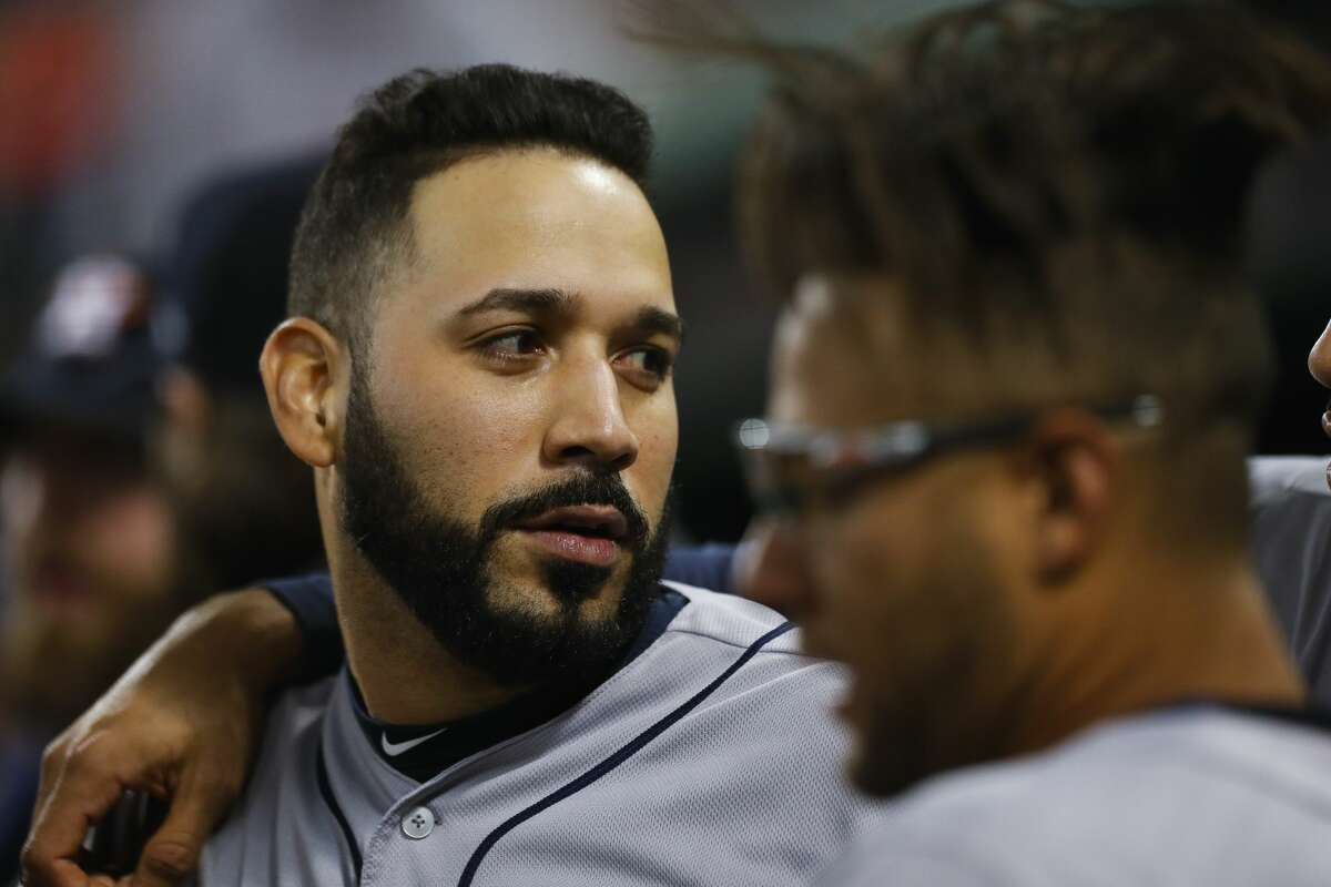 Marwin González last played for the Astros in 2018. He signed with Minnesota after that season before moving to Boston this year.