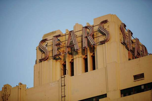 The Sears, Roebuck & Co. mail order building in the Boyle Heights neighborhood of Los Angeles on Oct. 10, 2018.