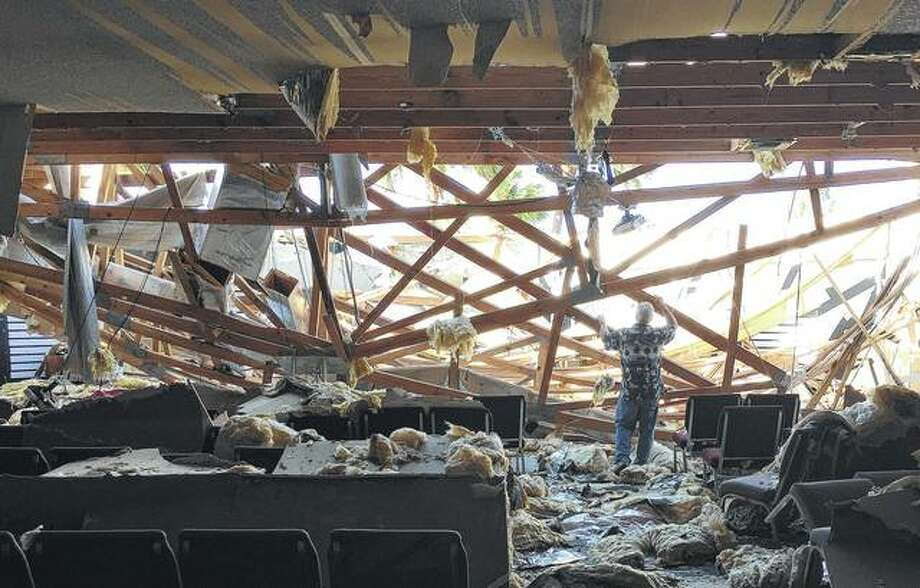 Bluffs Man Survives Hurricane Michael Apartment Church Destroyed
