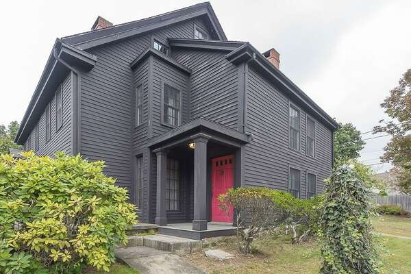 The nearly 4,000-square-foot (371-sqare-meter) home built in 1638 was once the home of John Proctor, who was convicted of witchcraft and hanged in 1692.