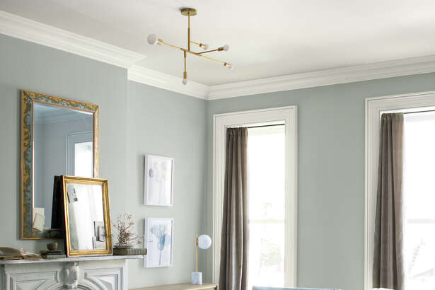 "Benjamin Moore has named ""Metropolitan"" as its 2019 Color of the Year."