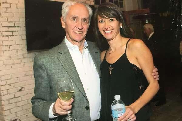 Alex Walsh next to her father, Rick Stein, 71.