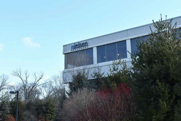 The corporate offices of Nielsen Holdings at 40 Danbury Road in Wilton, Conn., which the company shares with Louis Dreyfus and TD Bank.