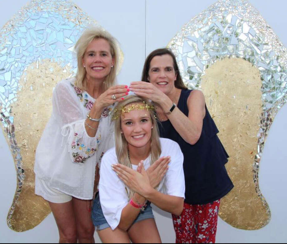 Sorority rush: Cindy Caraway, back left, and Cici Westmoreland; and Coco Caraway Photo: Courtesy Photo