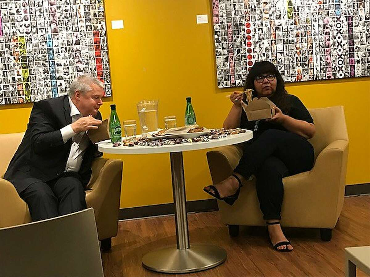 Daniel Handler and Virgie Tovar in Litquake conversation