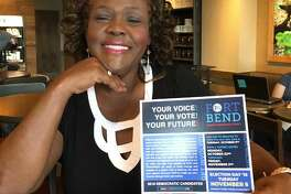 Fort Bend County Democratic Party Chairwoman Cynthia Ginyard