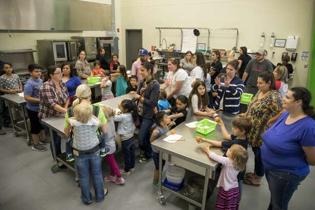 West Texas Food Bank hosts Kids in the Kitchen with the Junior League of Odessa on Tuesday night.