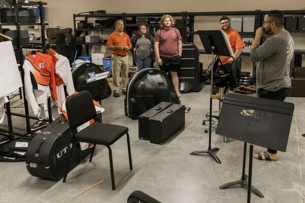 UTPB Music Major for A Day at Wagner Noel Performing Arts Center.