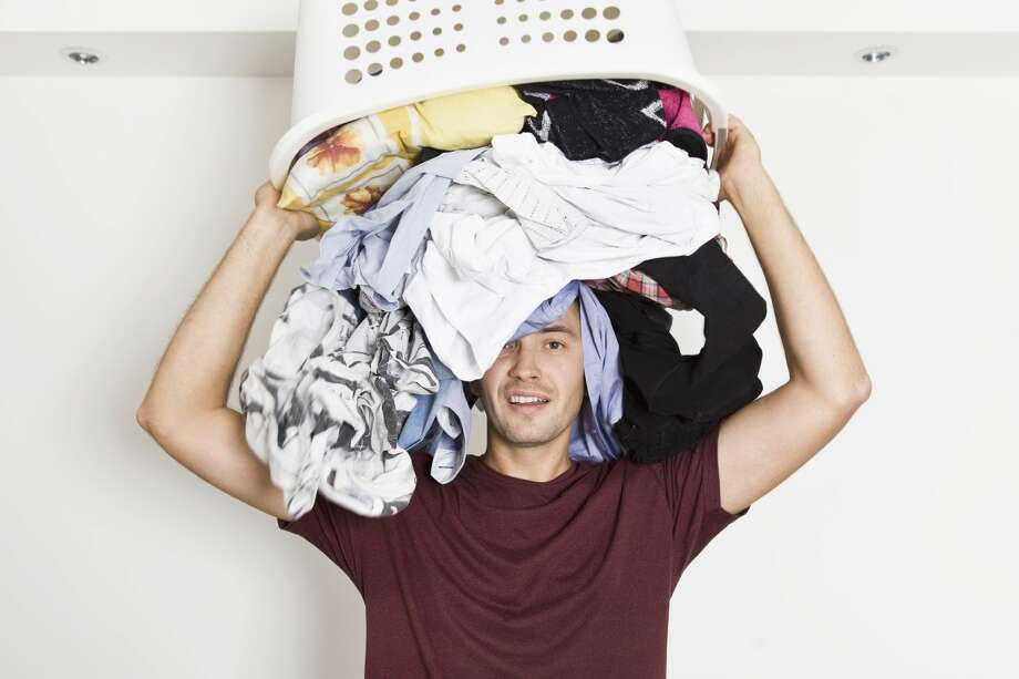 A young man feels like he has to do too many chores at home. Photo: Lukas_zb/Getty Images/iStockphoto