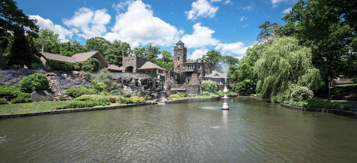 Owned by Derek Jeter, Tiedemann Castle at 14 Lake Shore Road Greenwood Lake, NY is on the market for $14.75 million. Read more at toptenrealestatedeals.com