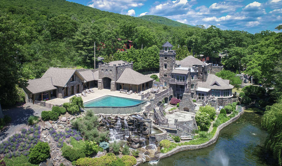 Owned by Derek Jeter, Tiedemann Castle at 14 Lake Shore Road Greenwood Lake, NY is on the market for $14.75 million.