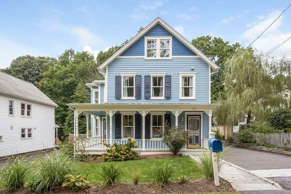 The charming Victorian house at 35 Mansfield Avenue in town is just blocks from shops, restaurants, and the Metro North train station.