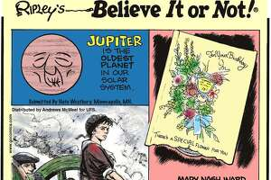 The Ripley's Believe It or Not! cartoon panel has been published continuously since 1918. The franchise also published comic books that were popular with kids in the 1970s.