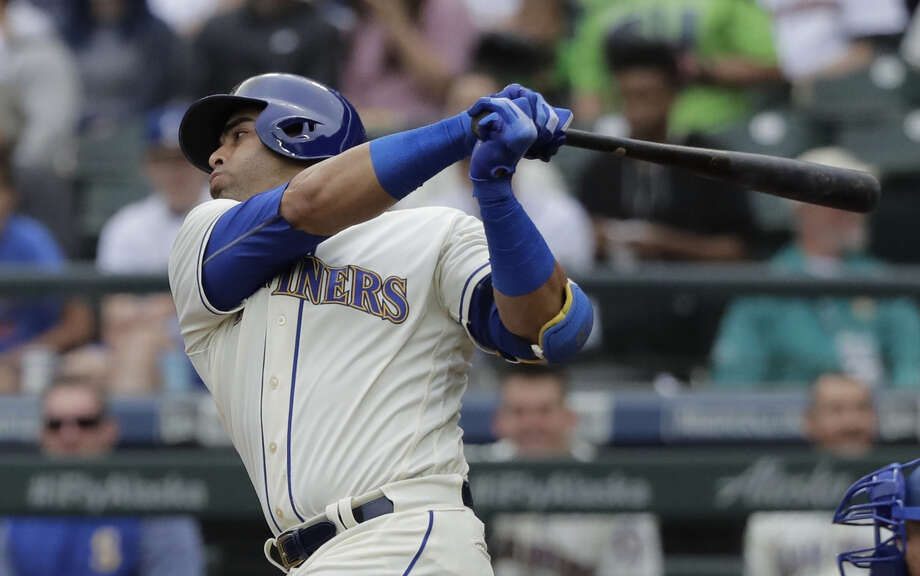 Mariners outfielder/designated hitter Nelson Cruz revealed in an Instagram post Monday that he's become an American citizen.  Photo: Ted S. Warren/Associated Press