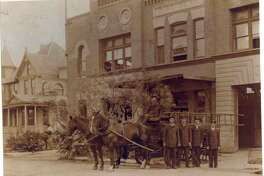 The Fire Museum of Houston is located in historic Station #7, shown here in this early 1900s photo.