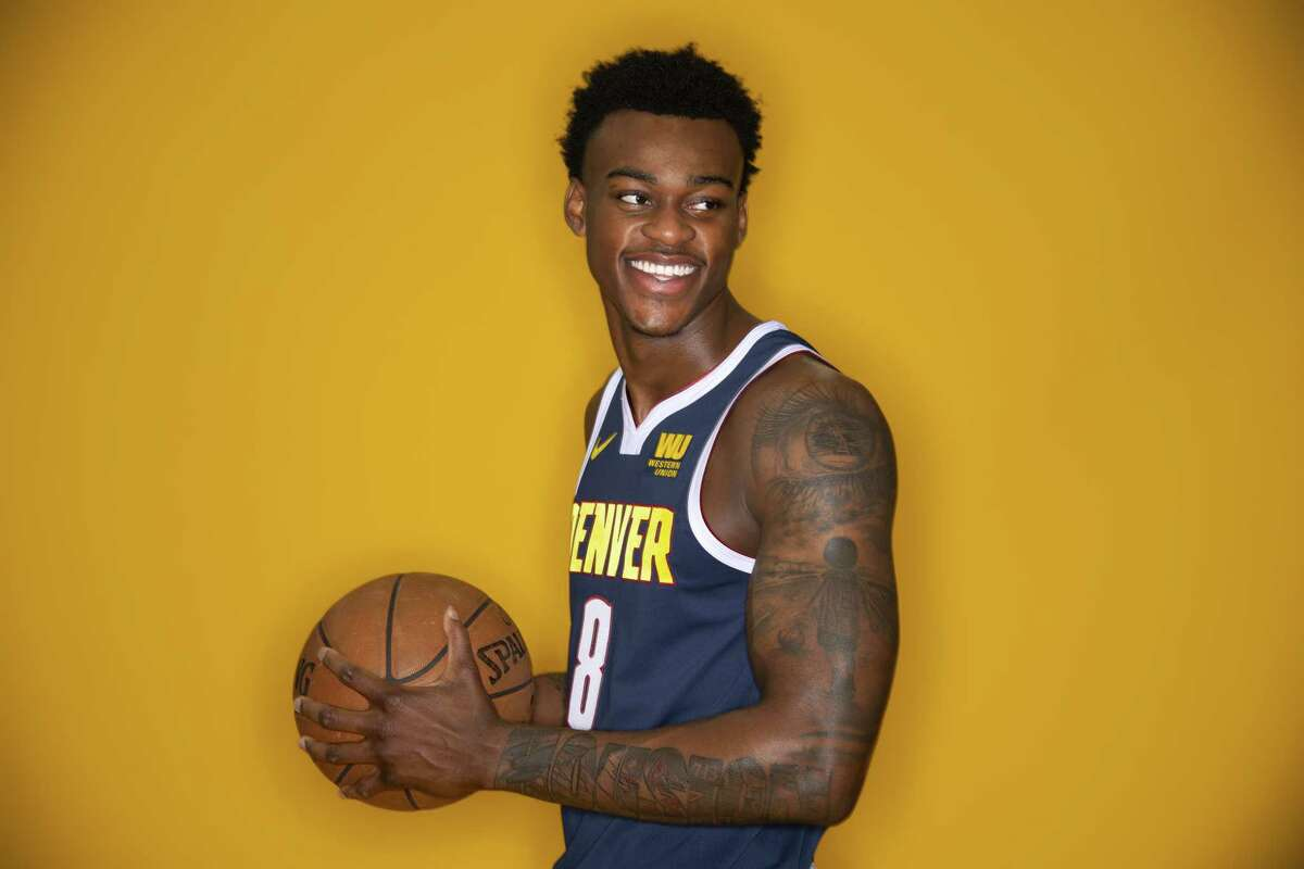 HOUSTON HIGH SCHOOL STUDENTS SELECTED IN NBA DRAFTS Jarred Vanderbilt High school:Victory Prep Academy College:Kentucky Draft:2ndround (No. 41 overall) by Nuggets in 2018