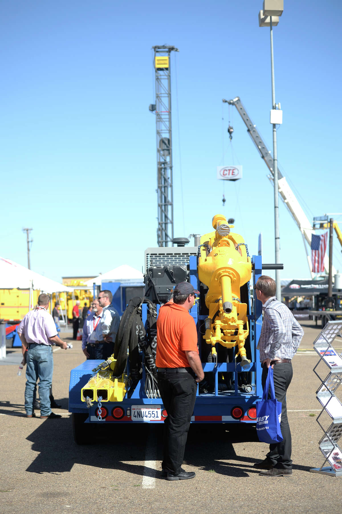 2016 Permian Basin International Oil Show at the Ector County Coliseum in Odessa.
