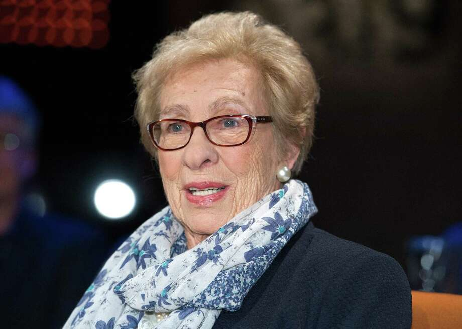 Eva Schloss, step-sister of Anne Frank,k, will be speaking Sunday, Oct. 28, at the Klein Memorial Auditorium in Bridgeport. Photo: Ingo Wagner / Picture Alliance / Getty Images / Connecticut Post Contributed