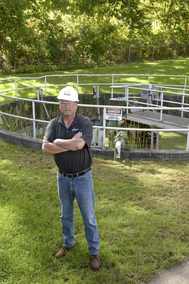 Project manager Jeff Pennell at the Ridgefield South Street Wastewater Treatment Facility. Friday, October 5, 2018, in Ridgefield, Conn. Photo: H John Voorhees III / Hearst Connecticut Media / The News-Times