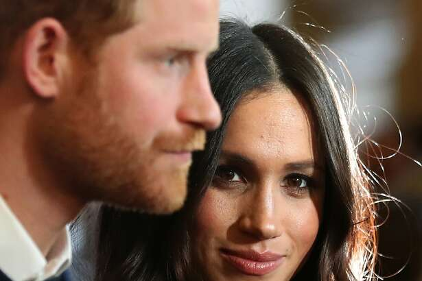 Prince Harry and Meghan Markle during a reception for young people at the Palace of Holyroodhouse, in Edinburgh, during their visit to Scotland on Jan. 23, 2018. (Andrew Milligan/PA Wire/Abaca Press/TNS)